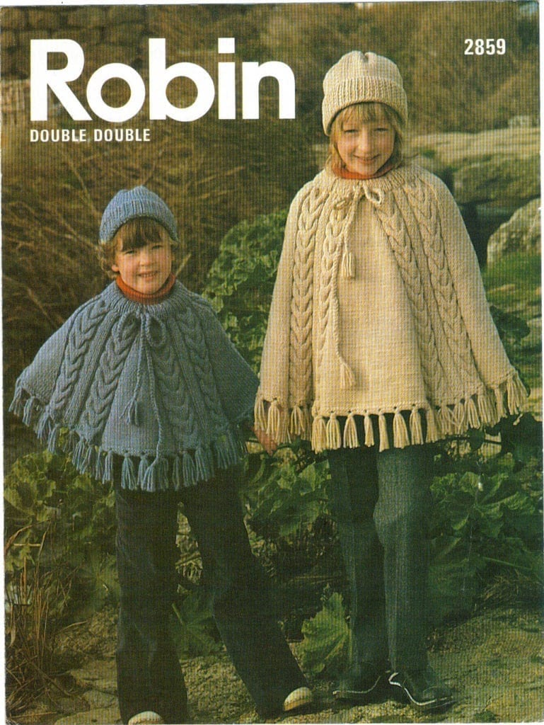 Free poncho crochet pattern for kids: ||free easy knitting