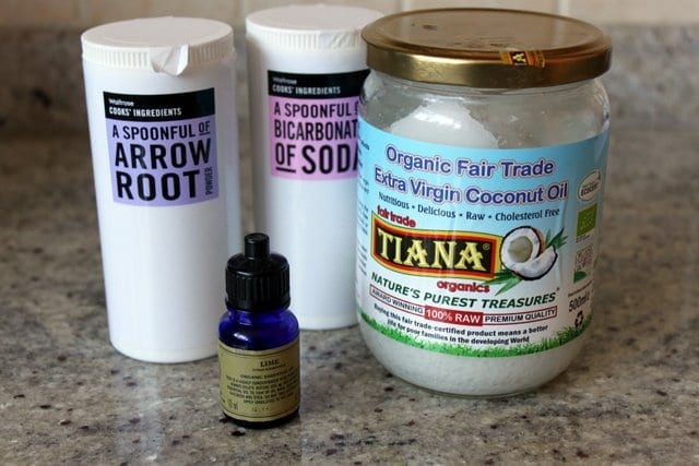 how to make deodorant with baking soda and coconut oil