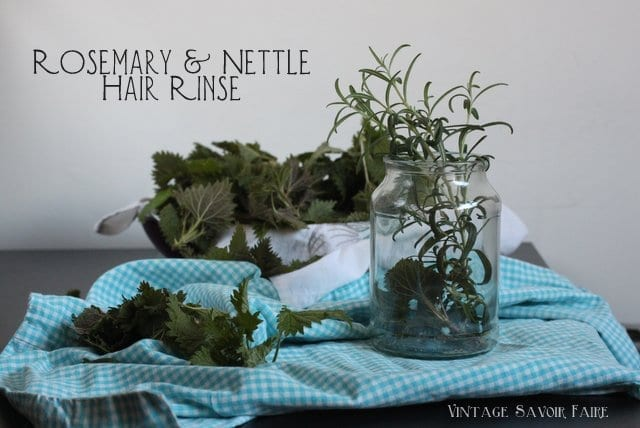 Rosemary Nettle Hair Rinse
