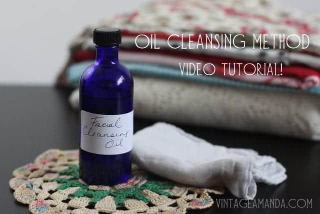 Oil Cleansing Method [video tutorial]