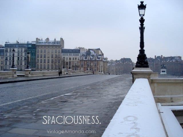 spaciousness