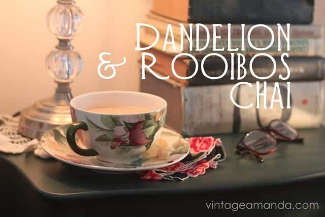 Dandelion & Rooibos Well-Rooted Chai