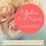 Effective Anti-Aging Workshop 500