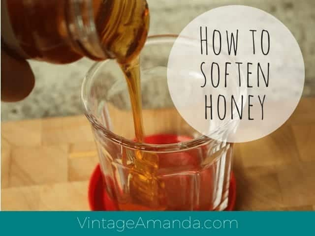 amandacook.me Soften hard honey in the microwave or hot water