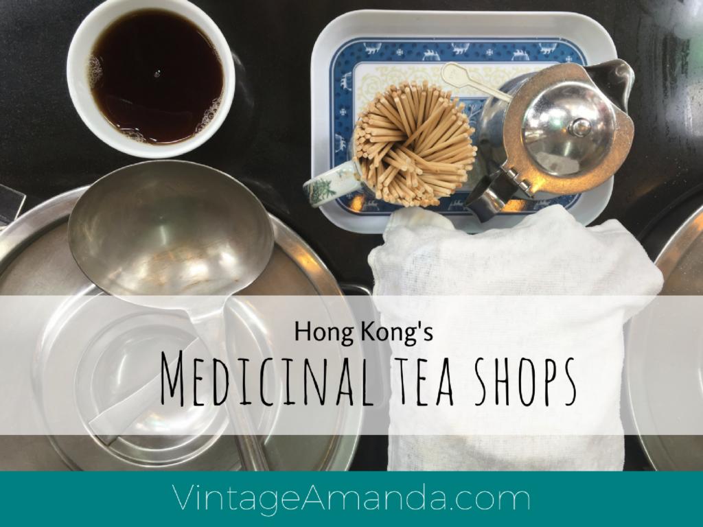 Hong Kong Medicinal Tea Shops