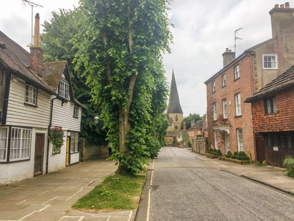 A street in Horsham, England