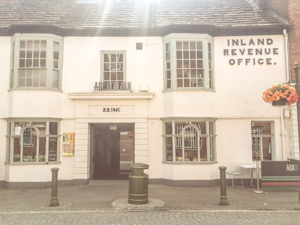 The Inland Revenue Office in Horsham